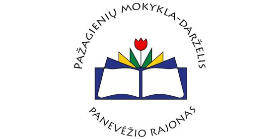 Pažagienių mokyklos-darželio logotipas